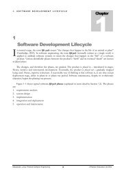 1 Software Development Lifecycle