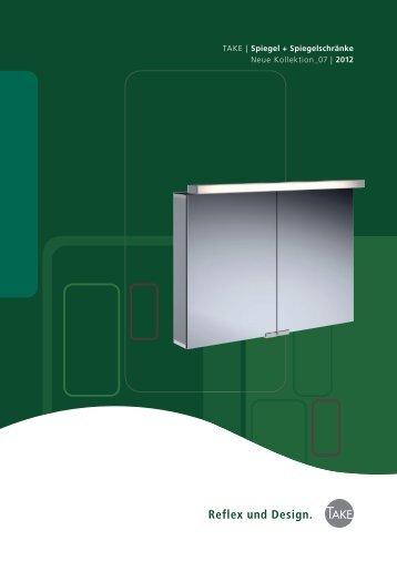TAKE | Spiegel  + Spiegelschränke - TAKE für Bad und Heizung