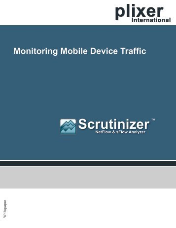 Monitoring Mobile Device Traffic - Telecom