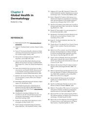 Chapter 3 Global Health in Dermatology - McGraw-Hill Medical ...