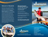 Download our Summer/Fall brochure (PDF). - Yellowknife Outdoor ...