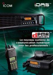 Documentation commerciale IDAS dPMR - Icom France