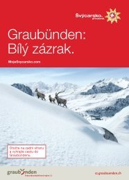 Brožura ke stažení ve formátu PDF (3,7 MB) - Moje Švýcarsko.com
