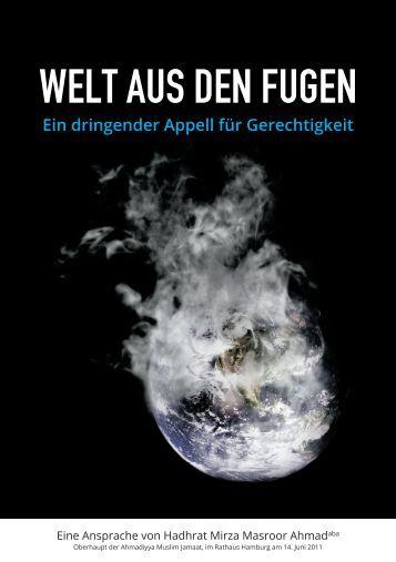WELT AUS DEN FUGEN - Ahmadiyya Muslim Jamaat Schweiz