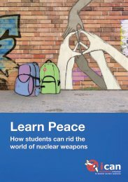 Learn Peace - International Campaign to Abolish Nuclear Weapons