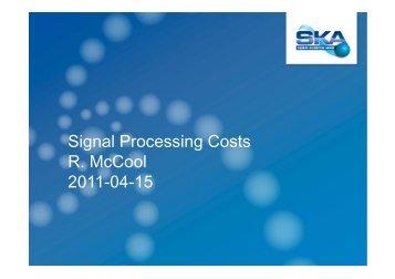 63-Signal Processing.. - SKA