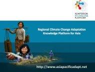 March 20-21 Presentations_Adaptation Knowledge Platform 2