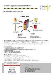 SAFE flex - Wagner GmbH