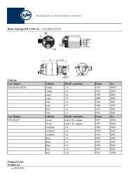 Anlasser Starter Fiat Brava Bravo Punto Seicento Lancia Y Y10 1,1 1,2 16V 80