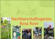 Nachbarschaftsgarten Rosa Rose - Stiftung trias