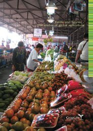 Facts and figures - The status of global agriculture (2008-2009)(10 ...