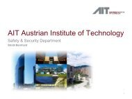 AIT Austrian Institute of Technology - Security-Forum