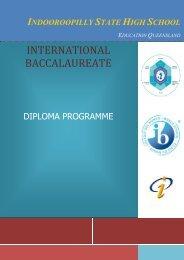 2013 IB Curriculum Handbook - Indooroopilly State High School