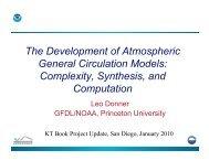 The Development of Atmospheric General Circulation Models - cmmap