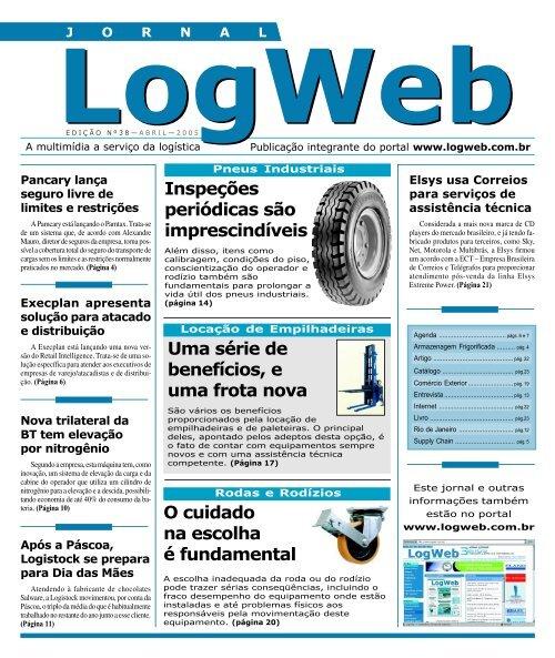 Edição 38 download da revista completa - Logweb