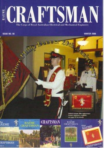 The RAEME CRAFTSMAN Issue 56.pdf - RAEME Association WA