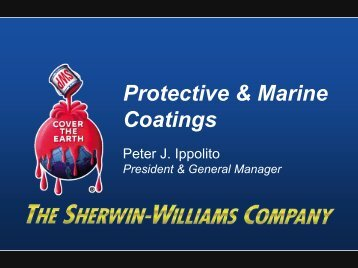Protective & Marine Coatings - Sherwin-Williams
