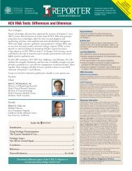 HCV RNA Tests: Differences and Dilemmas - Projects In Knowledge