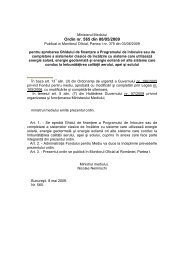 Ordinul nr. 565/2009 Aprobarea Ghidului de finantare a Programului ...