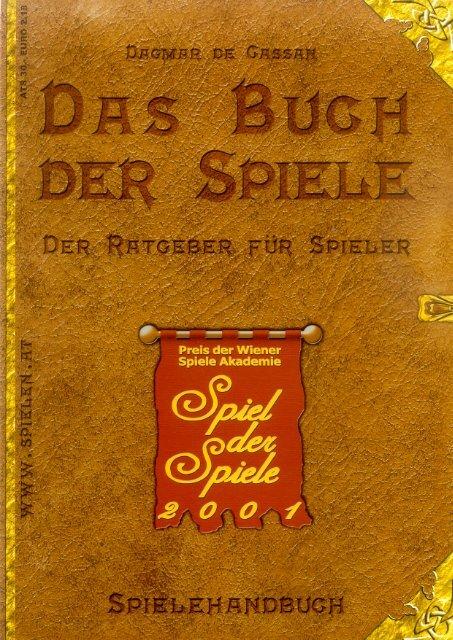 Spielehandbuch 2001 - Österreichisches Spiele Museum