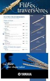 Télécharger le catalogue FLUTES & PICCOLOS - Feeling Musique