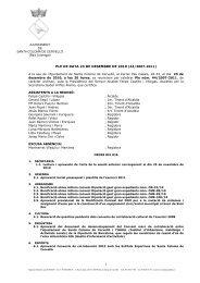 Ple 23 de desembre de 2010 - Ajuntament de Santa Coloma de ...