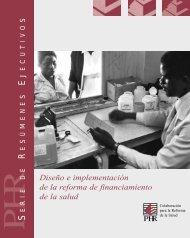 Diseño e implementación de la reforma de ... - PHRplus