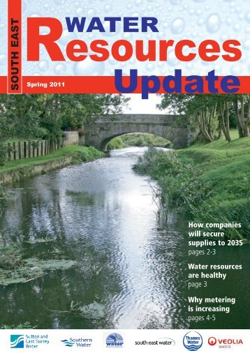 Water Resources Update Spring 2011 - Sutton and East Surrey Water