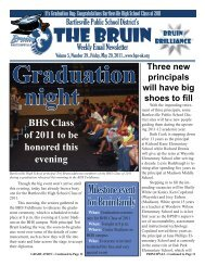 The Bruin (Vol. 5, Issue 39).indd - Bartlesville Public Schools