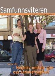 Samfunnsviteren 3/2002 - Samfunnsviterne