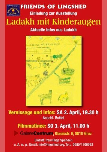 Ladakh mit Kinderaugen - Friends of Lingshed