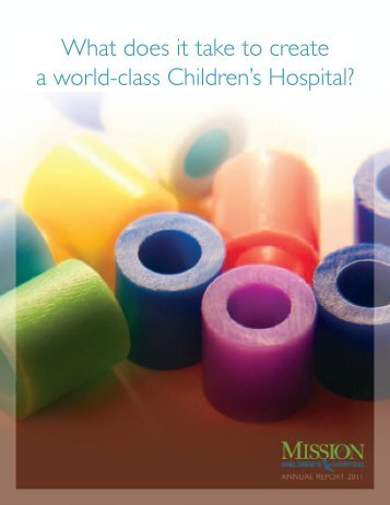 What does it take to create a world-class ... - Mission Hospital