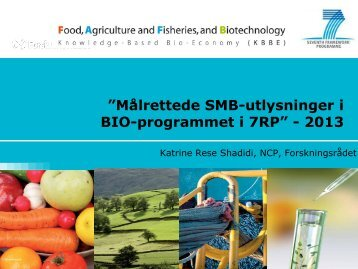SME - Biotekforum