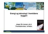 Energi og teknologi i byggeri - Fremtidsforskeren Jesper Bo Jensen