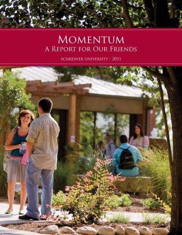 Momentum - Schreiner University