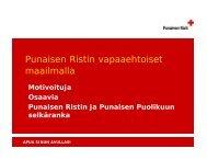 Armas Rahola Suomen Punainen Risti