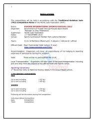 Regulations - United States Ju-Jitsu Federation