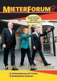 Keine Kündigung wegen Zah- lungsverzug durch ARGE - Mieterverein ...