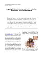 Integrating Mesh and Meshfree Methods for Physics Based Fracture ...