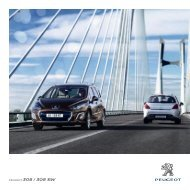 PEUGEOT 308 / 308 SW - Peugeot.si