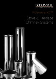 Stove & Fireplace Chimney Systems - Brochures