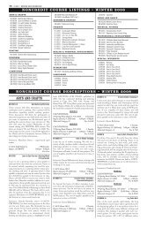 arts and crafts noncredit course listings • winter 2008 noncredit ...