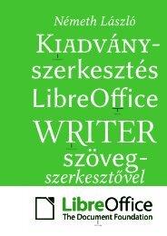 Kiadványszerkesztés a LibreOffice Writer szövegszerkesztővel