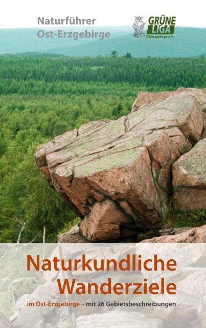 Naturkundliche Wanderziele - Naturführer Osterzgebirge