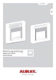 Bedienungsanleitung Rollläden Enext® | Renext® elektrisch betrieben