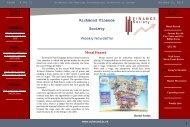 Richmond Finance Society Weekly Newsletter - Richmond - The ...