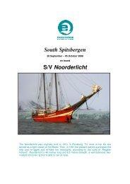 South Spitsbergen S/V Noorderlicht - Spitzbergen