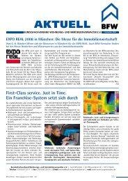 EXPO REAL 2008 in München: Die Messe für die Immobilienwirtschaft
