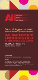 ENDODONTICO - Accademia Italiana Endodonzia