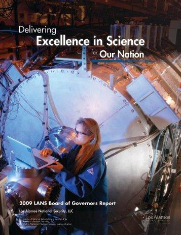 2009 (pdf) - Los Alamos National Security
